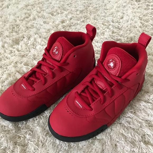 2d96106496b BNWT Toddler 10c Jordan Jumpman Pro in Gym Red